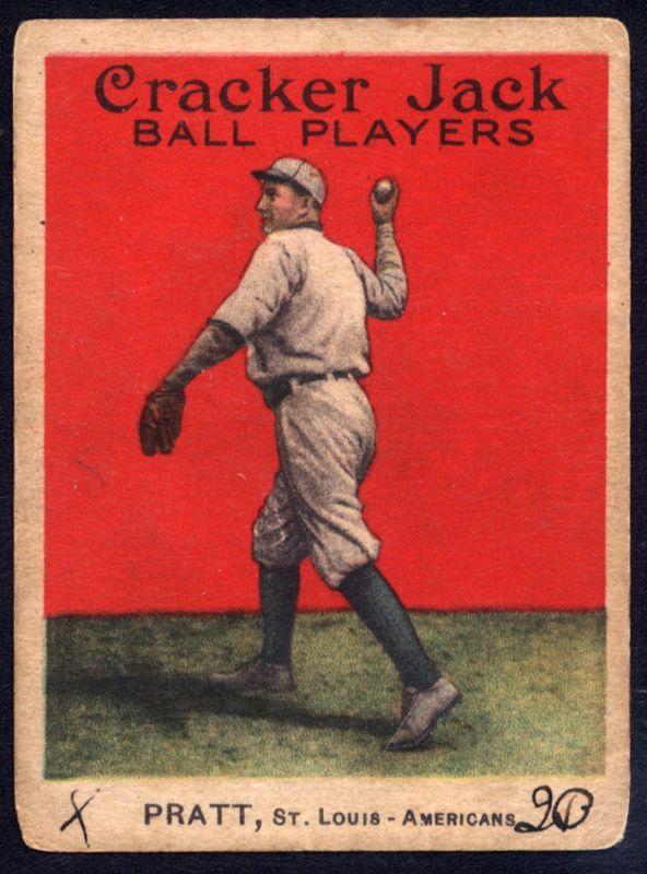 1914 Cracker Jack Del Pratt