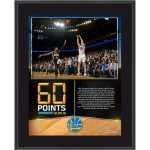 Klay Thompson 60 point plaque memorabilia