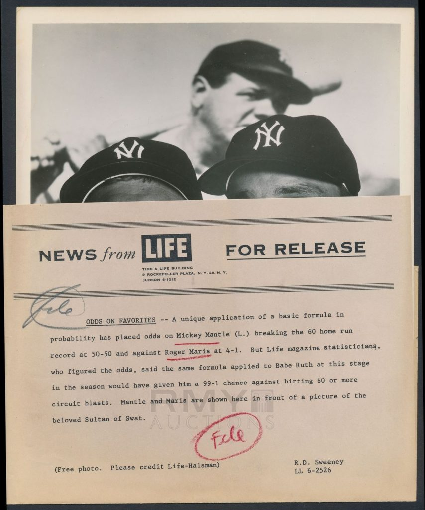 life-news-release-1961-maris-mantle-photograph