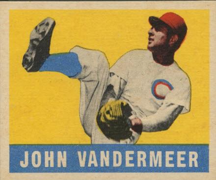 Johnny Vander Meer 1948 Leaf