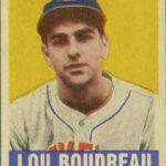 Lou Boudreau 1948 Leaf