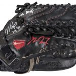 2014 Mike Trout game used glove