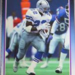 Emmitt Smith rookie card Score Supplemental 1990
