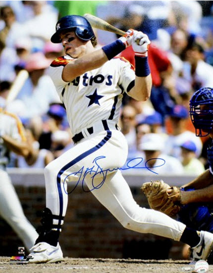 Autographed Jeff Bagwell picture