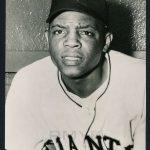 Willie Mays 1952 Berk Ross photo