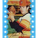 Kelloggs Nolan Ryan card 1982