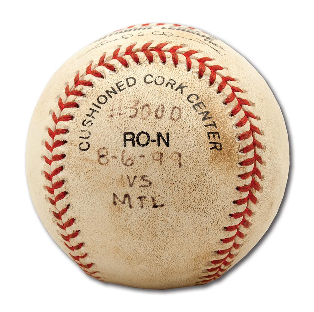 Tony Gwynn 3000 hit baseball