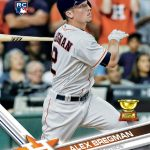 Alex Bregman Topps rookie card