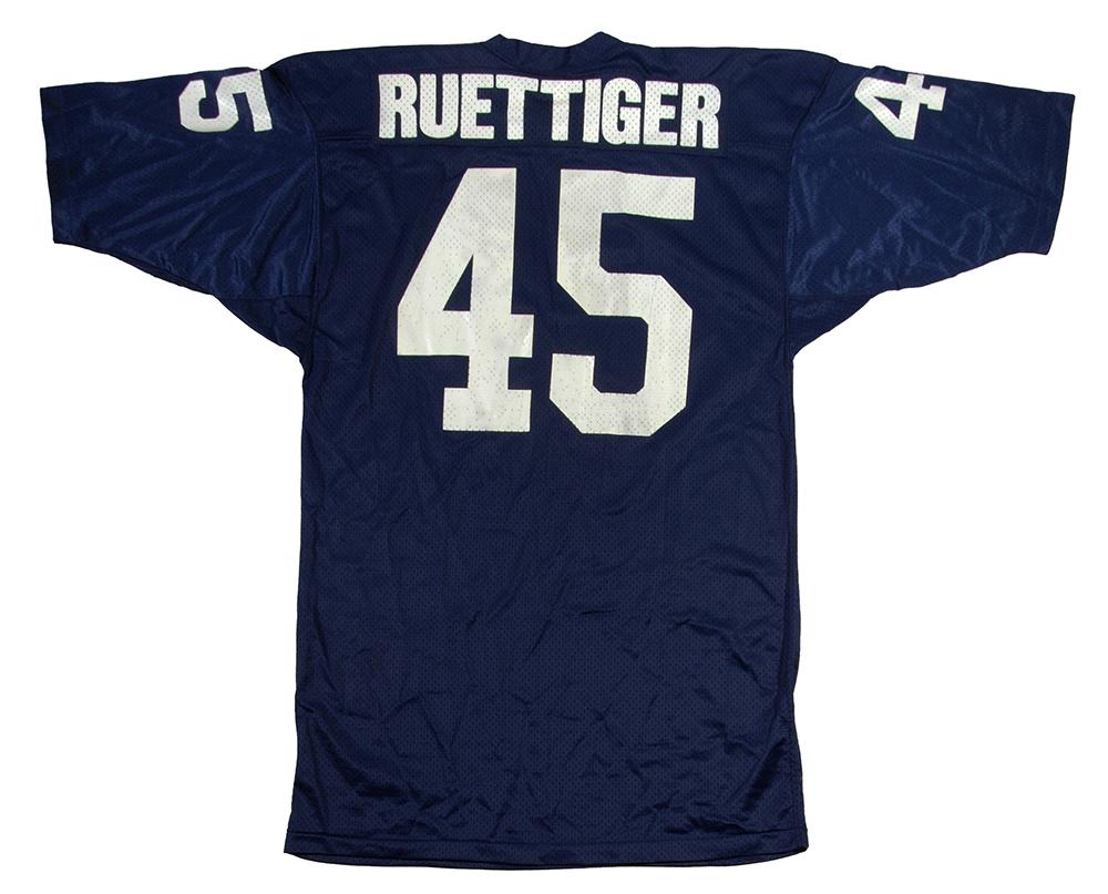 1975 Rudy Ruettiger game jersey