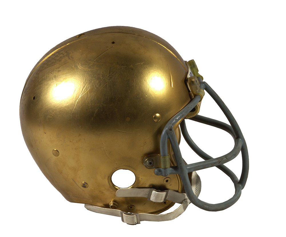 Notre Dame Rudy Ruettinger helmet