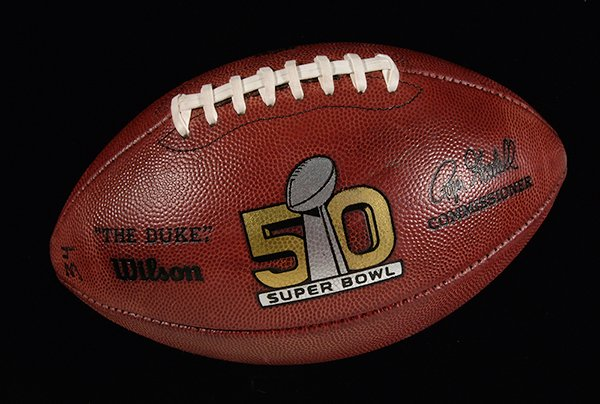 Kickoff football Super Bowl 50