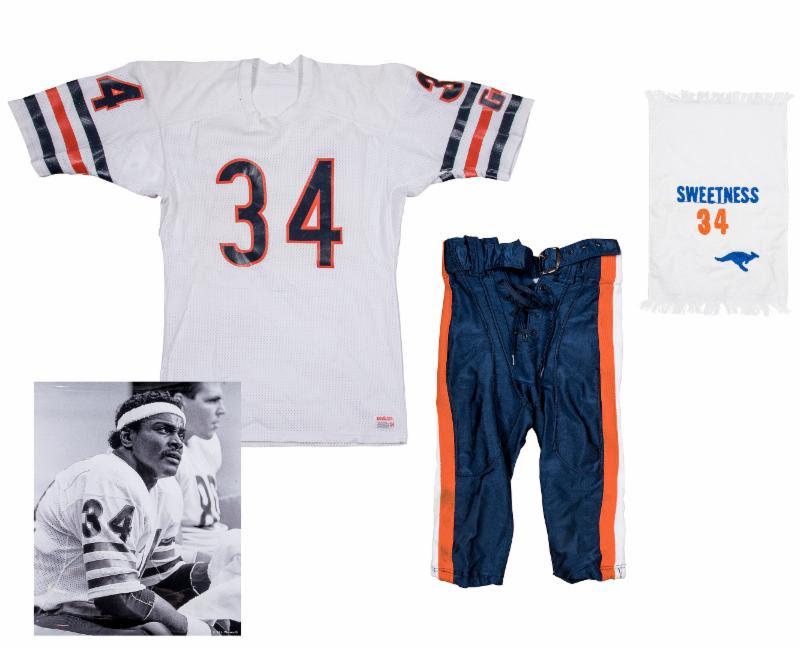 Game used Walter Payton uniform