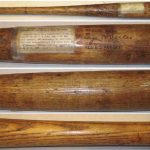 1920 George Sisler vault bat
