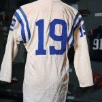 Game worn Johnny Unitas Colts jersey