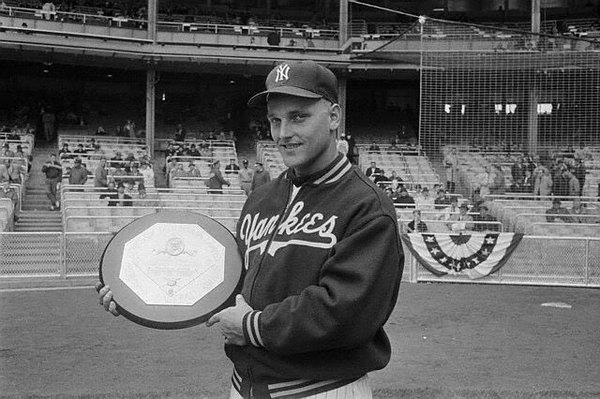 1960 Roger Maris MVP award