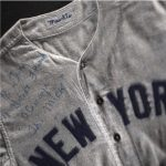 Mantle jersey signed Tom Catal