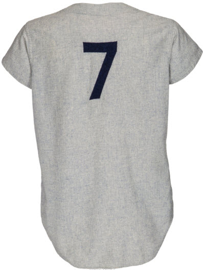1968 Mickey Mantle game jersey home run 535