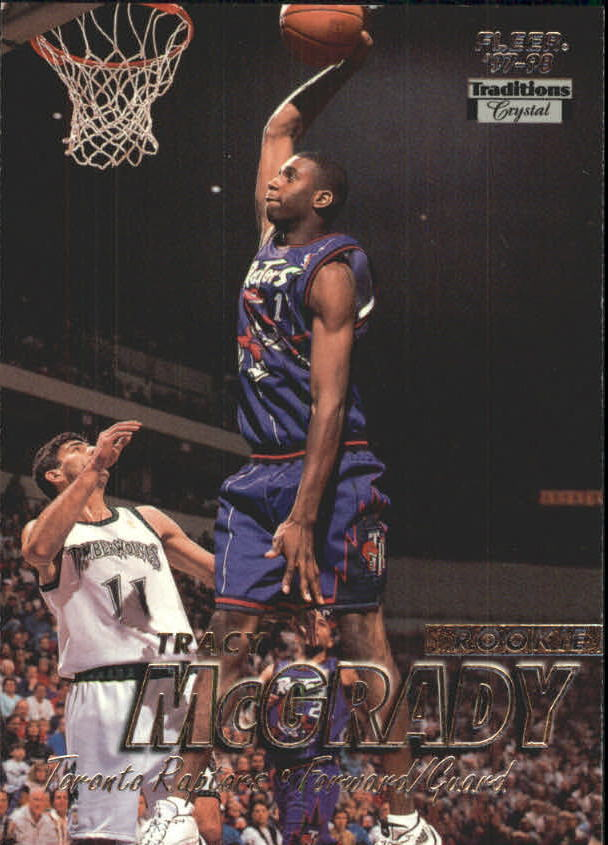 Tracy McGrady 1997-98 Fleer base