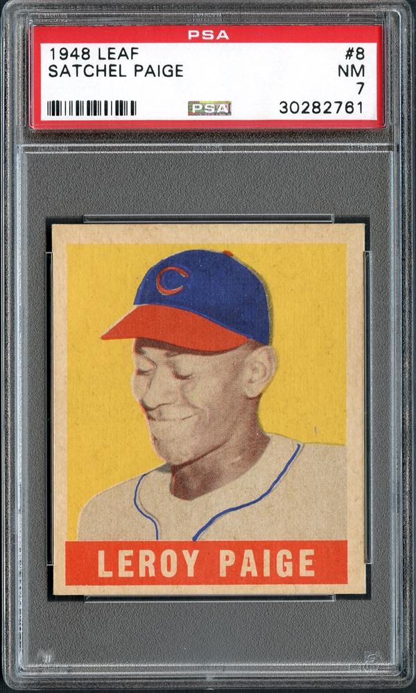 Satchel Paige 1948 Leaf