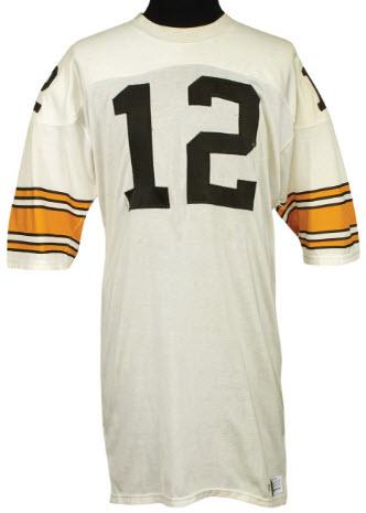 1977 Terry Bradshaw game worn jersey