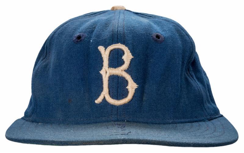 Brooklyn Dodgers cap Jackie Robinson