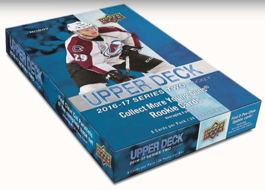 Upper Deck Series 2 hockey box