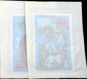 Packages 1971 Kelloggs football
