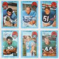 Kelloggs 1971 football cards