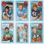 Kelloggs 1971 football cards