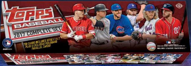 Topps 2017 baseball factory set
