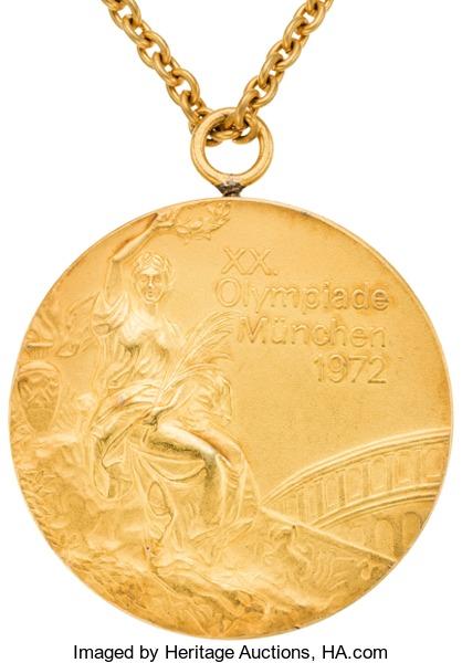 Olga Korbut 1972 Olympic gold medal