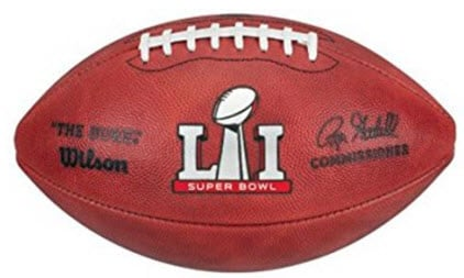 Wilson Super Bowl LI football