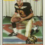 Kurt Warner 1995 Iowa Barnstormers football card