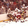 John Brophy photo hockey fight