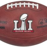 Game Used Super Bowl 51 football