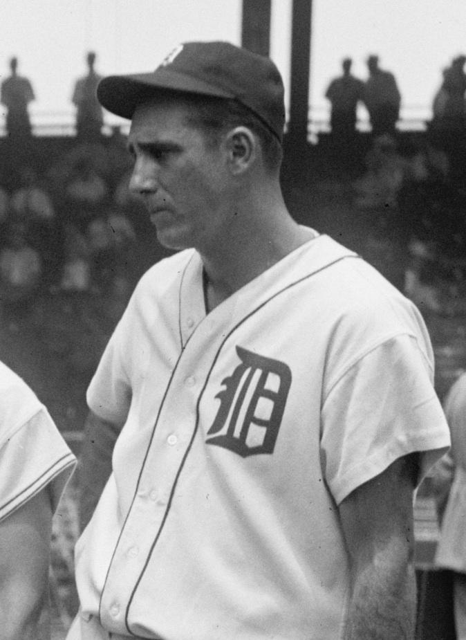 1937 photo Hank Greenberg Tigers