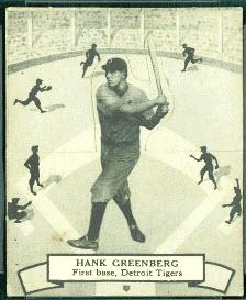 Hank Greenberg 1937 OPC