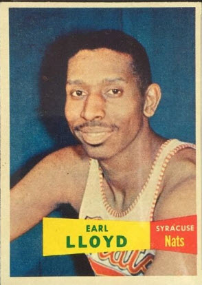 Earl Lloyd 1957-58 Topps
