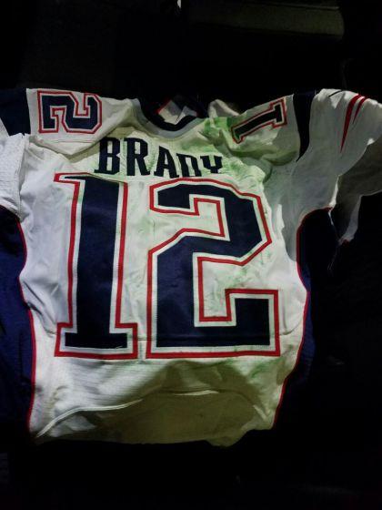 Super Bowl 49 jersey Tom Brady