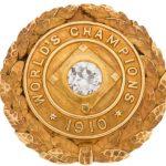 Bris Lord 1910 World Series championship pin