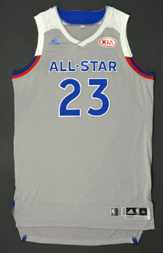 2016-17 lebron james all-star game jersey