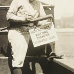 1924 Babe Ruth autograph home run bat game used