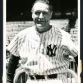 1939 Lou Gehrig retirement photo
