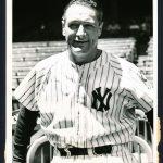 1939 Lou Gehrig retirement photo