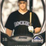 Nolan Arenado 2013 Bowman Sterling rookie card