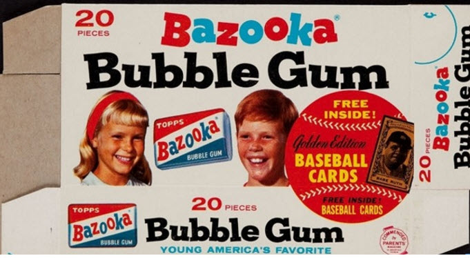 Bazooka 1963 All-Time Greats box