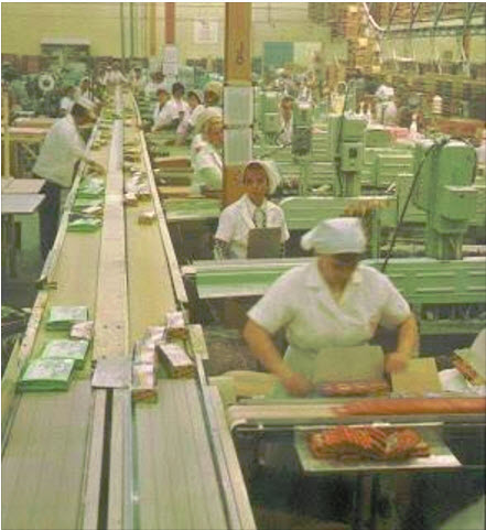 Topps packaging plant Duryea PA 1975