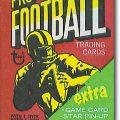 Topps 1971 football pack