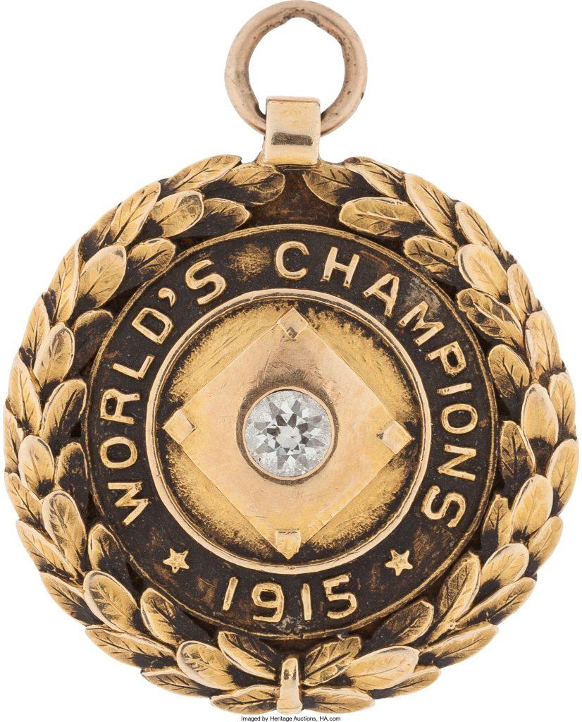 Boston Red Sox 1915 World Series champions pendant