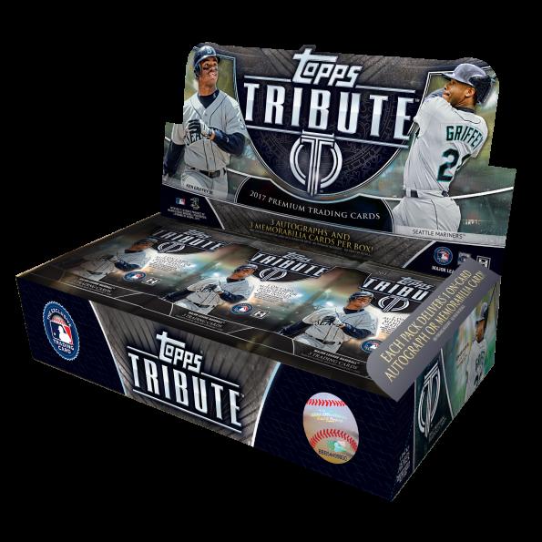 Topps Tribute 2017 box